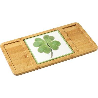 Celebration St. Patrick's Day Shamrock Glass Cutting Board