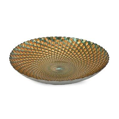 IMAX Istanbul Glass Decorative Bowl
