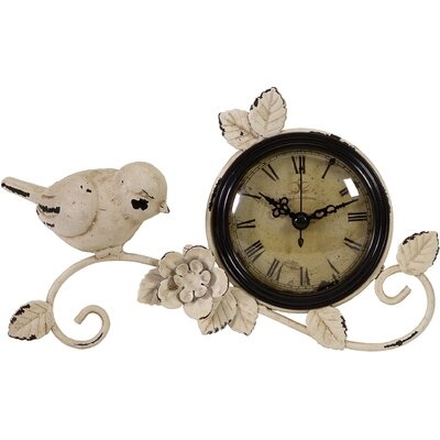 IMAX Bird Tabletop Clock