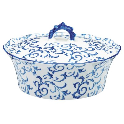 The DRH Collection Heritage 3L Stoneware Round Casserole