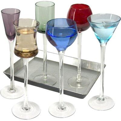 The DRH Collection 7 Piece Long Stem Liqueur Set