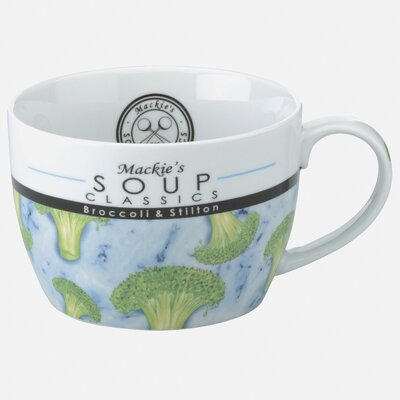The DRH Collection Mackie's Broccoli and Stilton Soup Cup