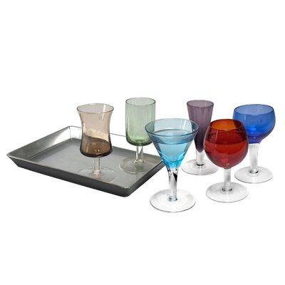 The DRH Collection 7 Piece Short Stem Liqueur Set