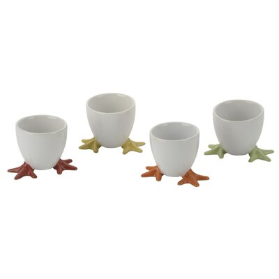 The DRH Collection Bia Chicken Footed Egg Cup