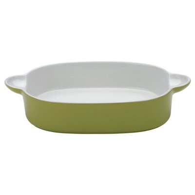 The DRH Collection Bia Scoop Oblong Roaster in Lemon Grass