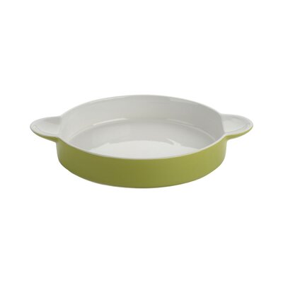 The DRH Collection Bia Scoop Large Round Flan Dish