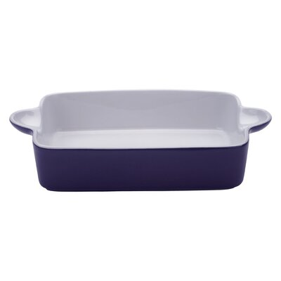 The DRH Collection Bia Scoop Large Rectangular Roaster in Purple