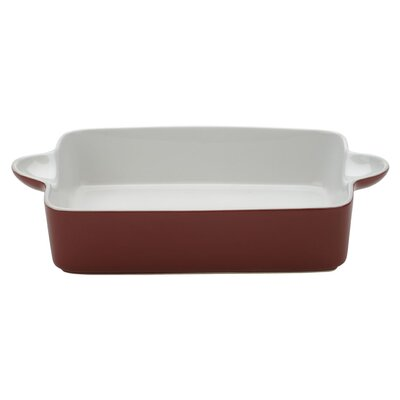The DRH Collection Bia Scoop Large Rectangular Roaster in Red