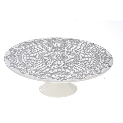 The DRH Collection BIA Doily Pedestal Cake Stand