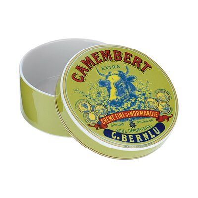 The DRH Collection Bia Cow's Head Camembert Baker and Cover