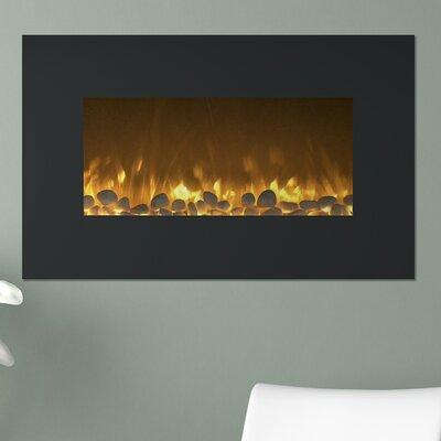 Flat Wall Mounted Electric Fireplace