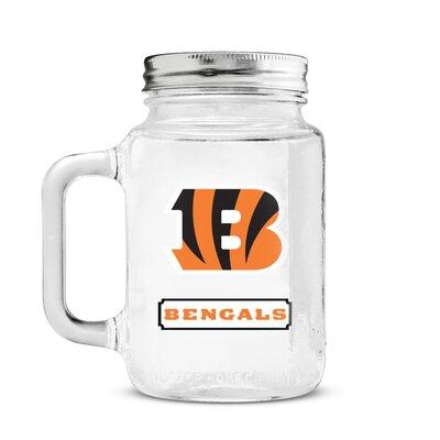 NFL Mason Jar NFL Team: Cincinnati Bengals