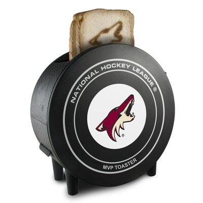 2-Slice NHL ProToast MVP Toaster NHL Team: Arizona Coyotes