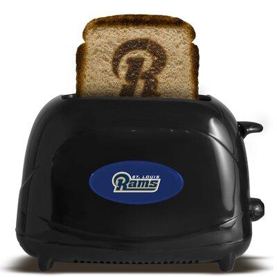 NFL 2-Slice ProToast Elite Toaster NFL Team: St. Louis Rams