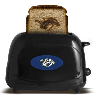 NHL 2-Slice ProToast Elite Toaster NHL Team: Nashville Predators