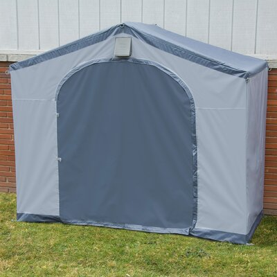 StorageHouse 6 ft. W x 2 ft. D Plastic Portable Tool Shed