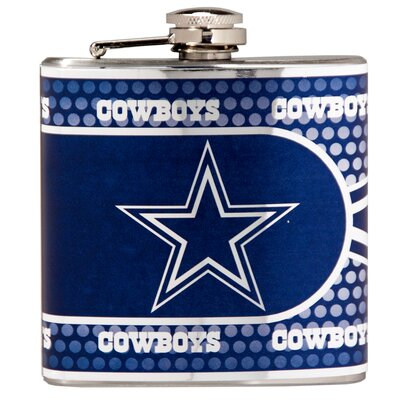 NFL Stainless Steel Flask NFL Team: Dallas Cowboys