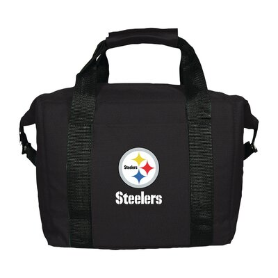 12 Can NFL Soft-Sided Tote Cooler NFL Team: Pittsburgh Steelers