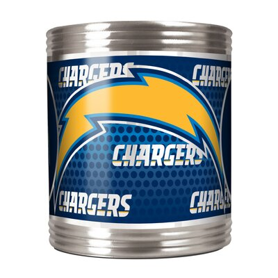 NFL Stainless Steel Can Holder NFL Team: San Diego Chargers