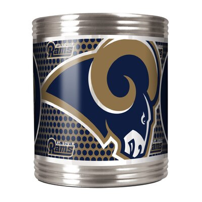 NFL Stainless Steel Can Holder NFL Team: Los Angeles Rams