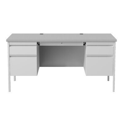 Hl10000 Series Desk Finish: Gray/Gray