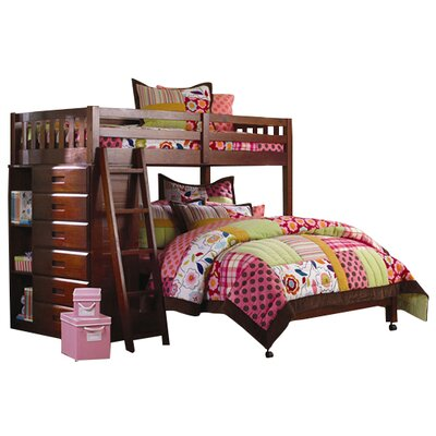 Weston Twin Over Full L Shaped Bunk Bed Wayfair