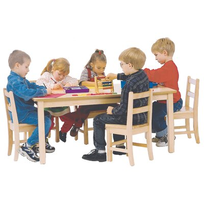 "30'' Circular Activity Table Height: 20"", Shape: Square (24"" x 24"")"
