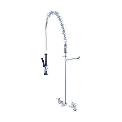 Ledge Double Handle Kitchen Faucet