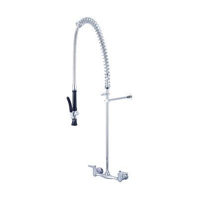 Double Handle Pre-Rinse Kitchen Faucet