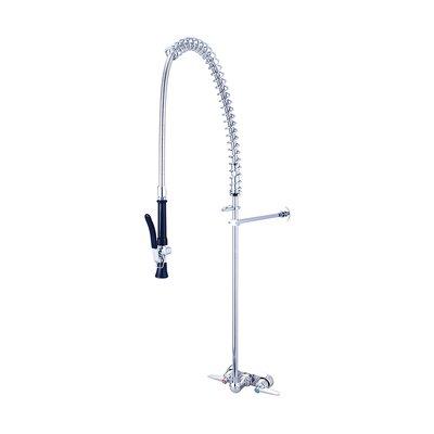 Cast Brass Double Handle Kitchen Faucet