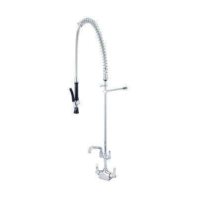 "Double Handle Kitchen Faucet with 6"" Swivel Tube Spout"