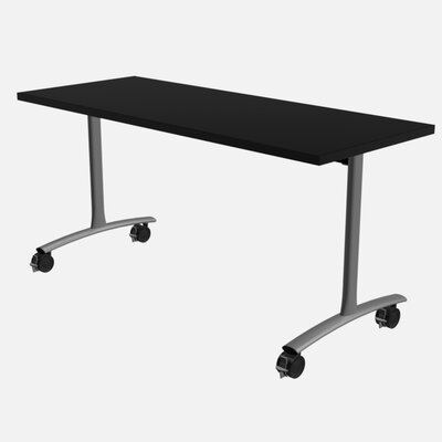 Dash Ultra Flip Training Table with Wheels