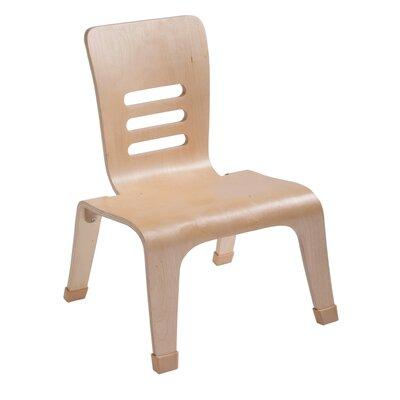 """ECR4kids Bentwood 12"""" Wood Classroom Chair"""