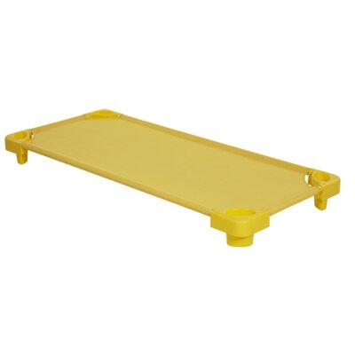 Standard Stackable Kiddie Cot (Set of 6) Color: Yellow