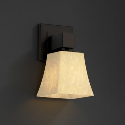 Justice Design Group Aero Fusion 1 Light Wall Sconce
