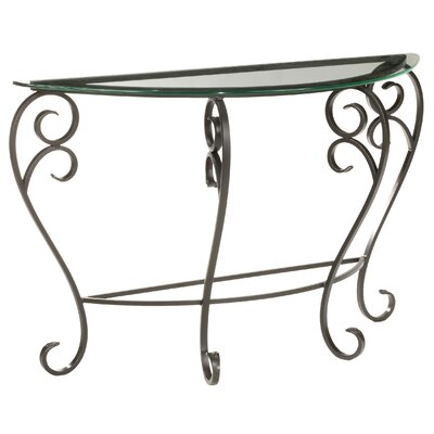 Church Street Foyer Console Table Color: Natural Black