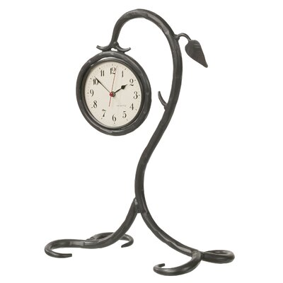 Stone County Ironworks Leaf Table Clock