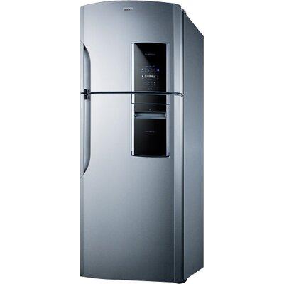 Summit Ingenious 18.2 cu. ft. Counter Depth Top Freezer Refrigerator Handle Location: Left
