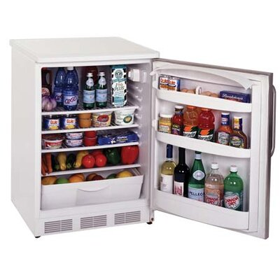 Accucold 23.63-inch 5.5 cu.ft. Compact All-Refrigerator with Lock