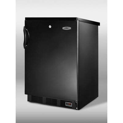 Summit Commercial 23.63-inch 5.5 cu.ft. Pub Cellar for Craft Beer Color: Black