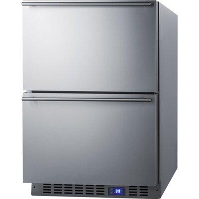 Summit 23.63-inch 3.4 cu.ft. Convertible Undercounter Refrigerator