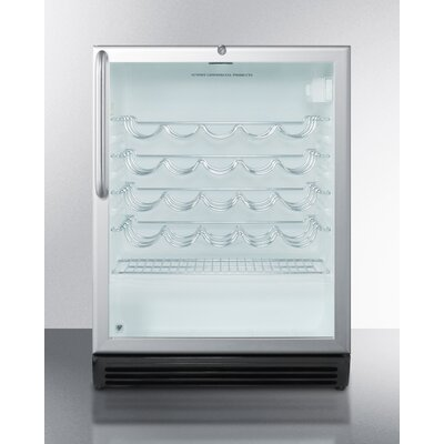 Summit Commercial 36 Bottle Single Zone Built-In Wine Cooler