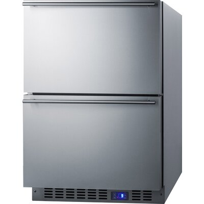 Summit Built-In 3.54 cu.ft. Frost-Free Drawer Freezer