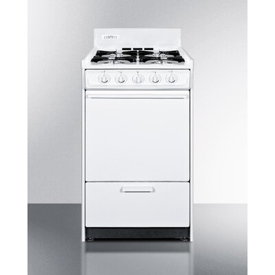 "Summit 20"" Free-standing Gas Range with Battery Start"