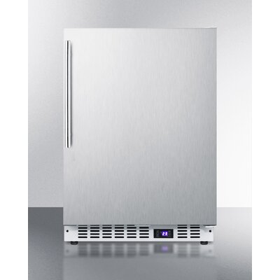 Summit Built-In 4.72 cu.ft. Frost-Free Upright Freezer Ice Maker: No