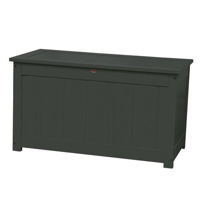 Phat Tommy Wood Deck Box Color: Charleston Green