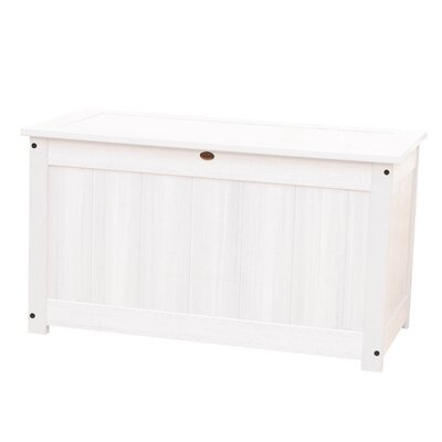 Phat Tommy Wood Deck Box Color: White