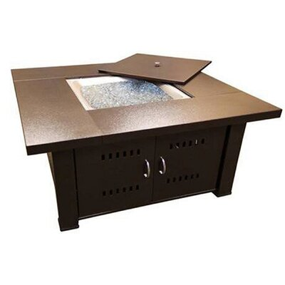 Phat Tommy Propane Fire Pit Table Finish: Hammered Bronze