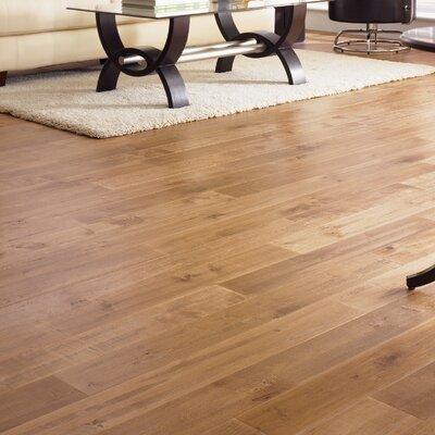 "Somerset Floors American Country 5"" Solid Maple Hardwood Flooring in Desert Tan"