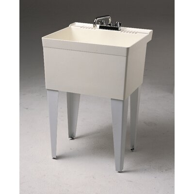 Fiat 23 Quot X 21 5 Quot Single Floor Mounted Utility Sink